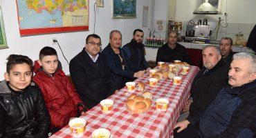Şuayb Camii'nde Mahalle Sakinlerimizin Düzenlediği Çorba İkramında Bir Araya Geldik.